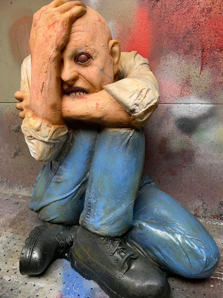 Halloween Asylum props 1