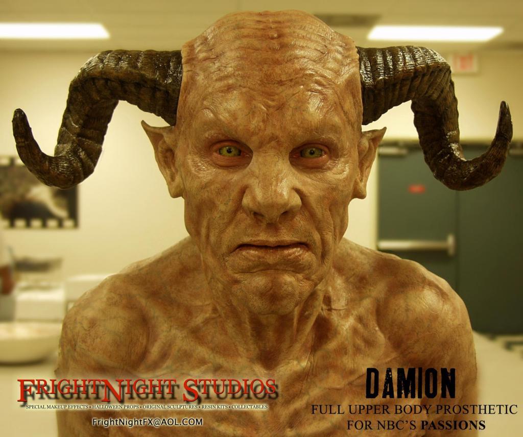 fright night studios full upper body prosthetic for halloween