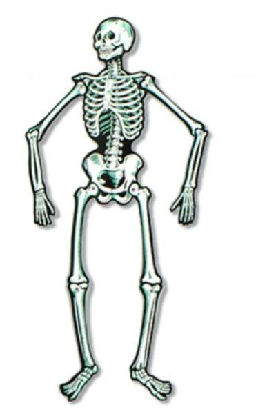 Retroween Halloween Retro Decoration Skeleton