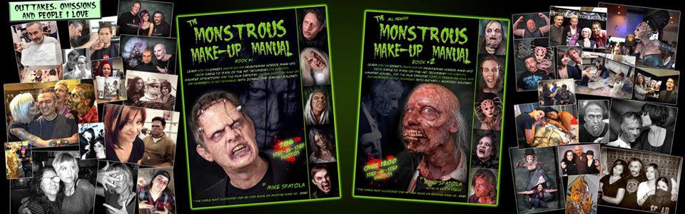 Monstrous Makeup Manual Volumes Cover