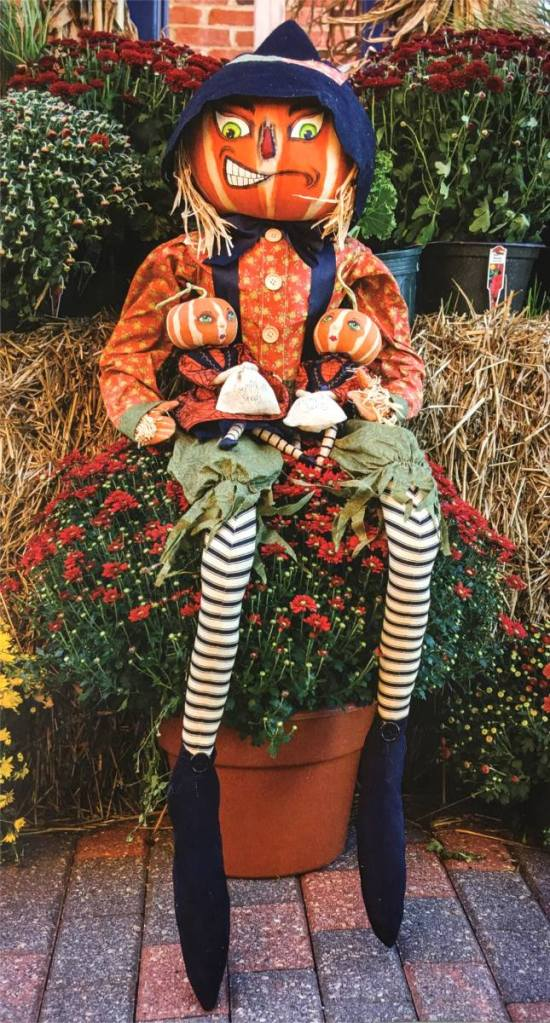 The Holiday Barn Scarecrow