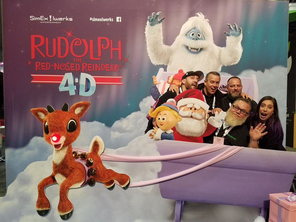 MonsterWorx Entertainment Rudolph 4D Photo Booth