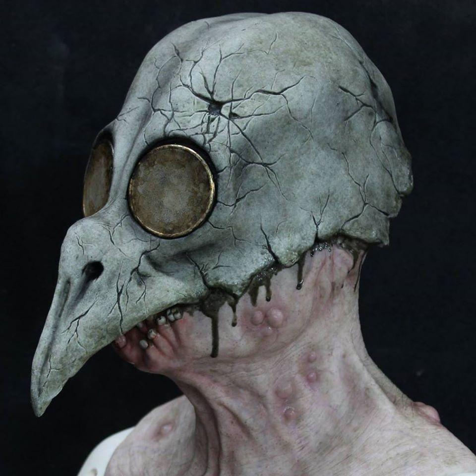 Shattered FX Bird Head Mask