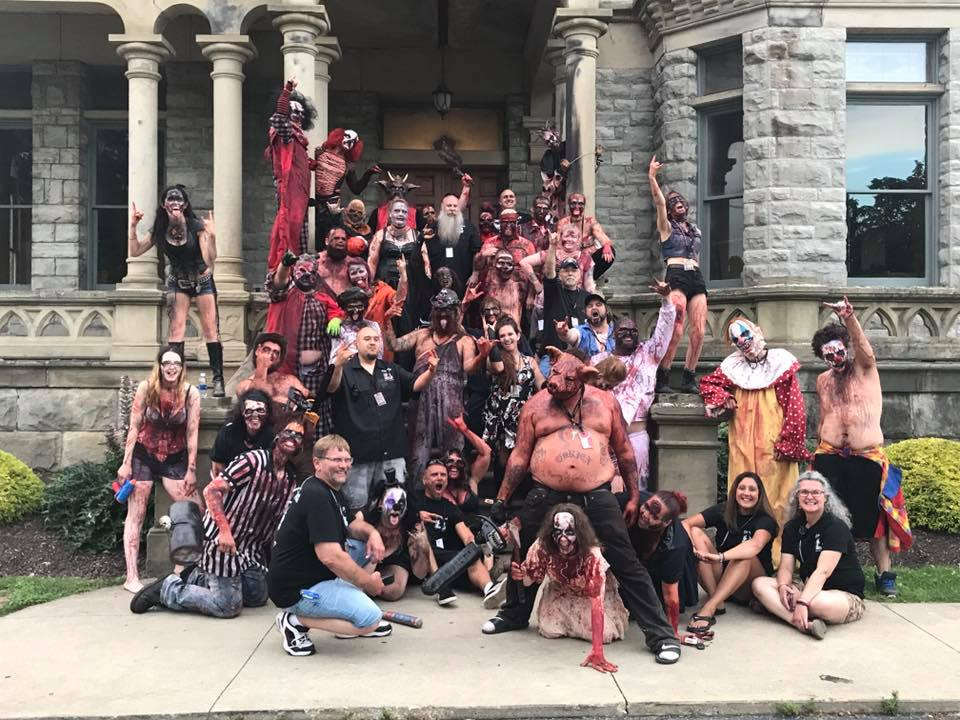 Blood Prison Ohio Haunted House Group