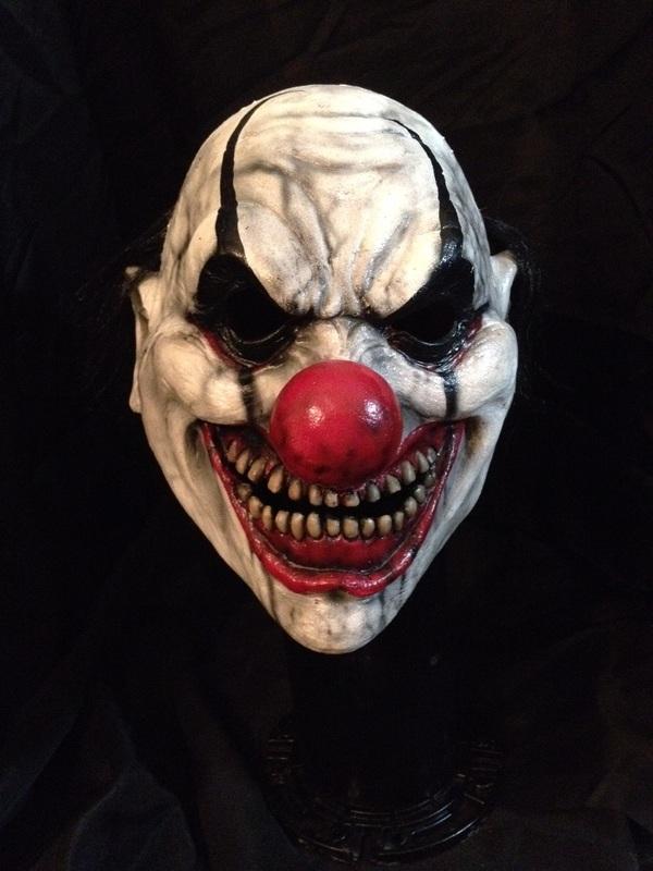 Night Terror Productions Clown Mask
