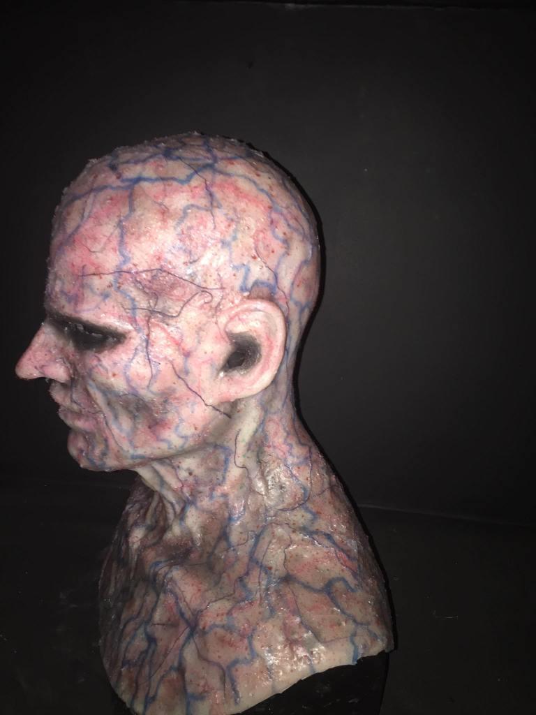 TFFX Mask Silicone Mask Vein Head