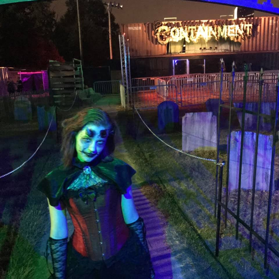 Containment Haunted House Front