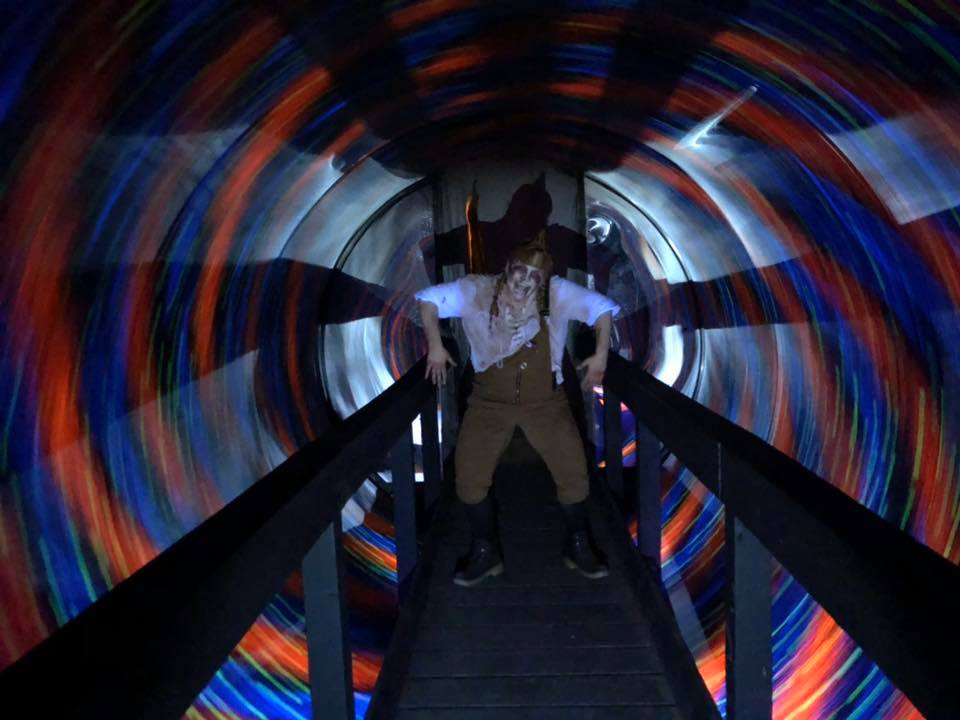 Hundred Acres Manor Haunted House Illusion Tunnel