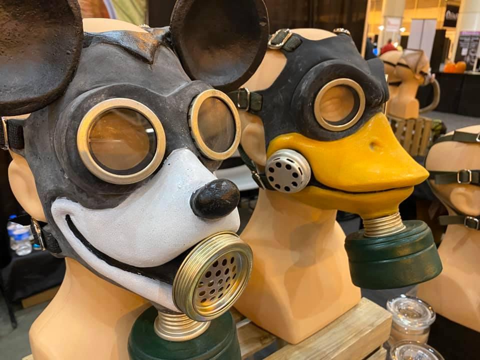 The Gemini Company Cartoon Gas Mask
