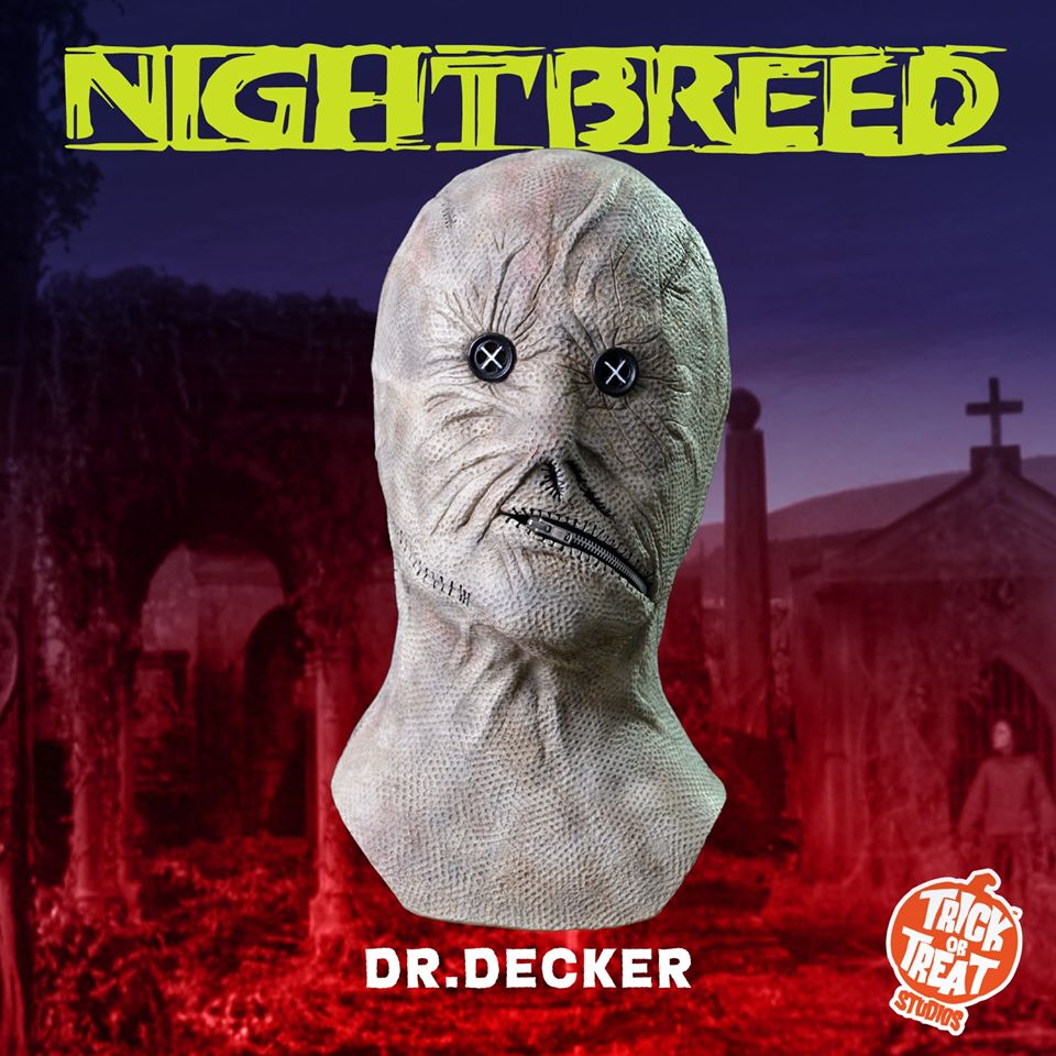 Trick Or Treat Studios Nightbreed Mask
