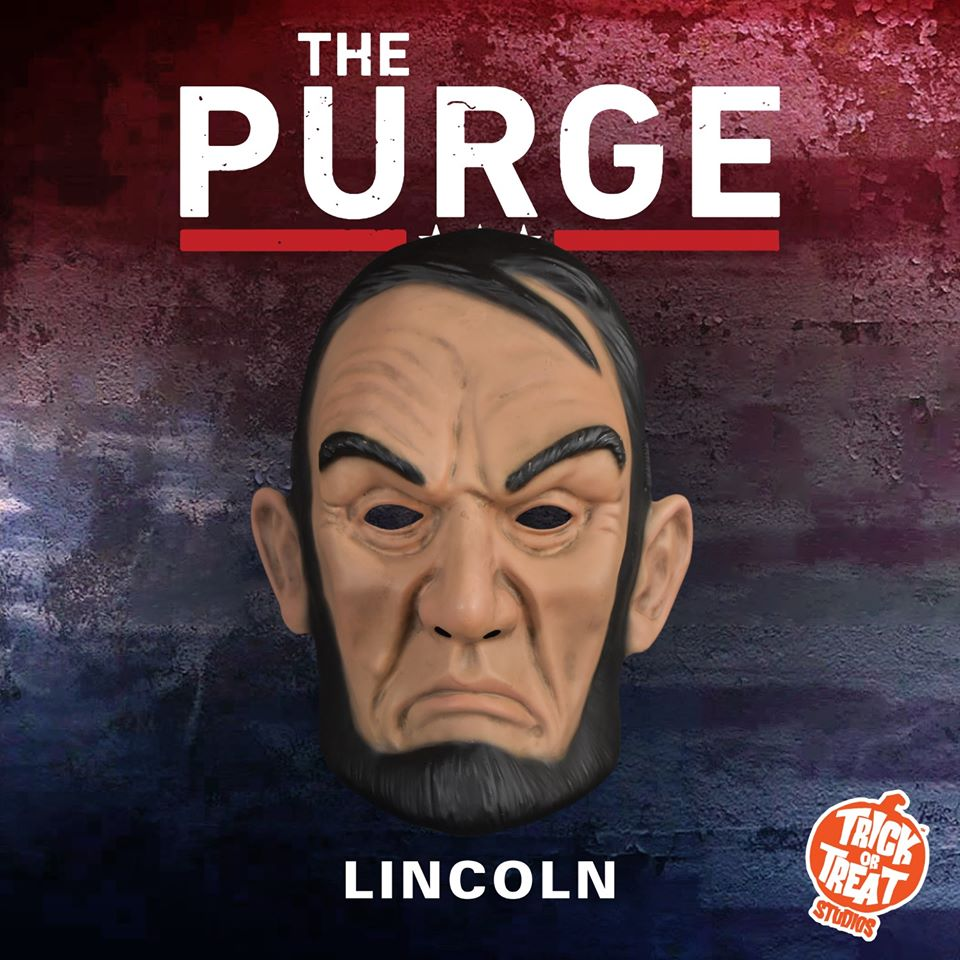 Trick Or Treat Studios The Purge Lincoln Mask