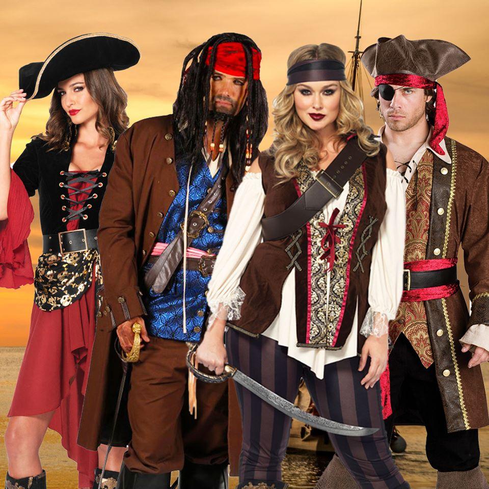 Mask World Pirate Costumes