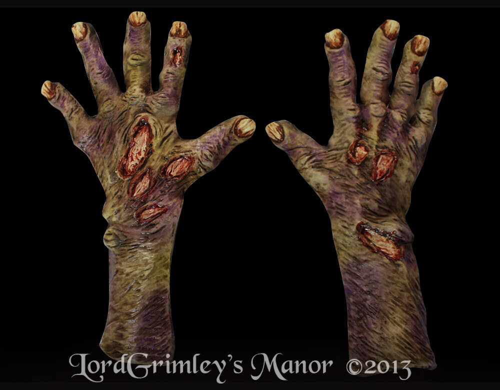 Lord Grimley's Manor Hands and Gloves
