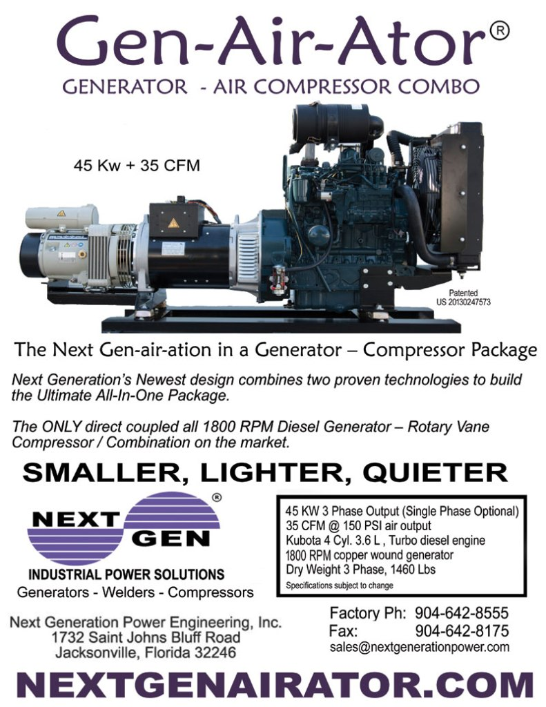 Next Gen Power Generator Large