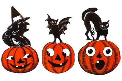 Retroween Halloween Retro Decoration Pumpkin Decorations