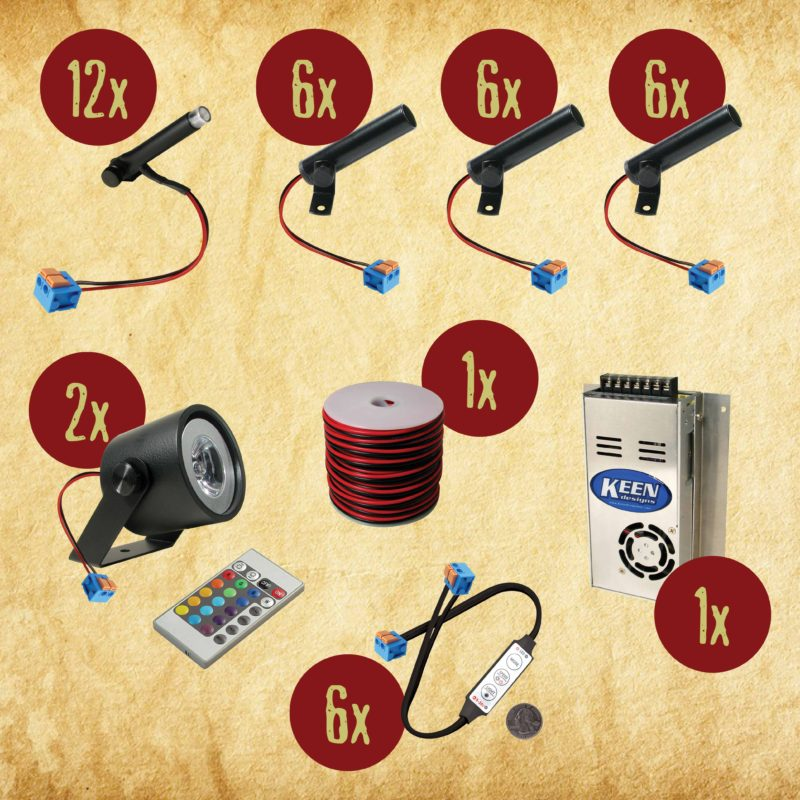 Scare Products Lighting Kit