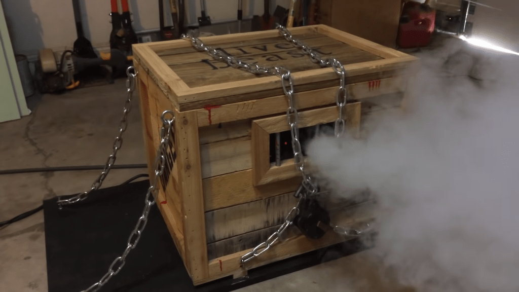 DIY Animatronic Props Monster In A Box