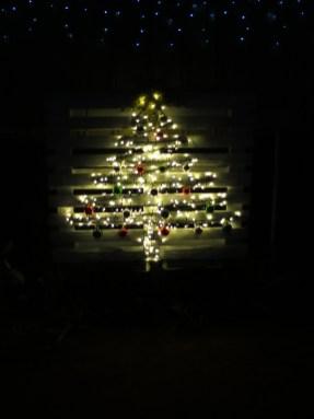 Flashing tree made by Debbie Dicks
