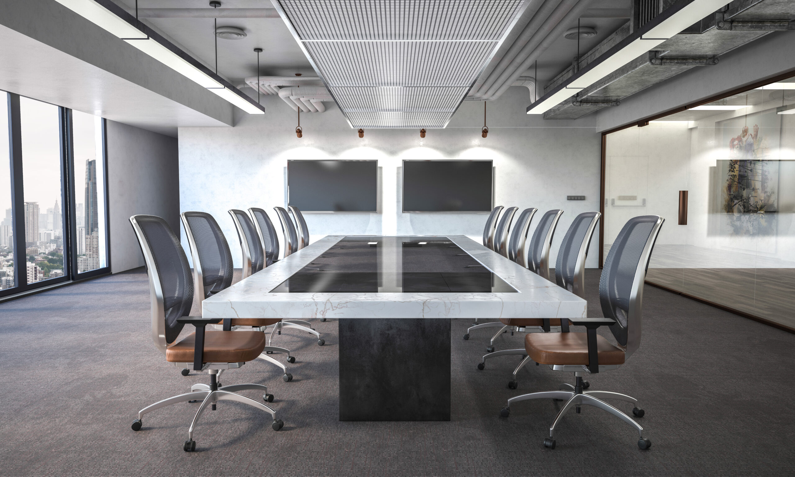 Multi-Display Conference Room