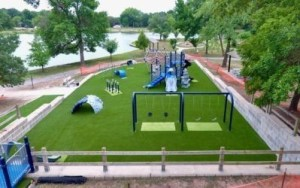 Kansas playground artificial grass