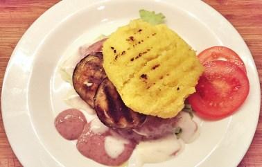 Polenta Burger Vegan