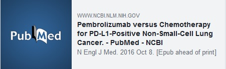 Pembrolizumab versus Chemotherapy for PD-L1-Positive Non-Small-Cell Lung Cancer. - PubMed - NCBI