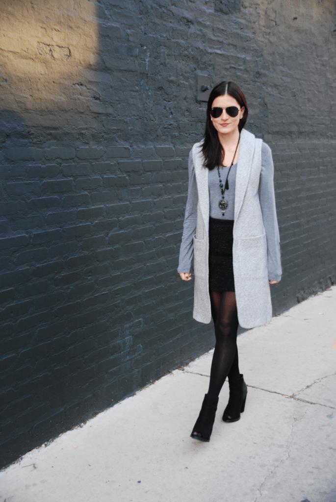 Short Skirt Long Jacket - 4