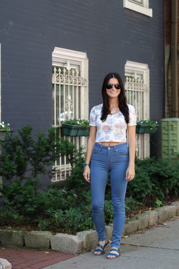 My Favorite Combo- Crop Top & High Waist Jeans - 6