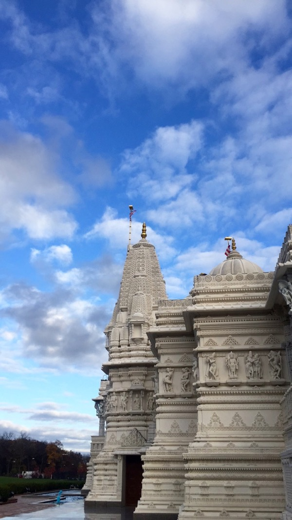 beautiful scenery of a temple