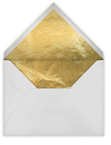 gold foil envelope liner paperless post