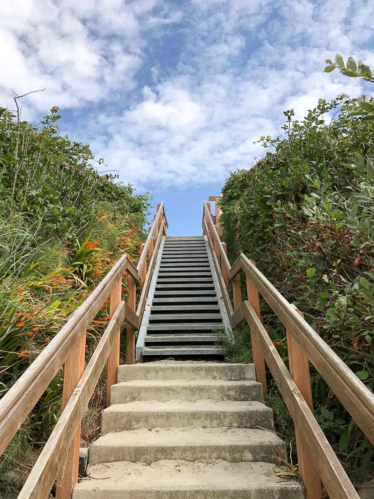cannon beach staircase