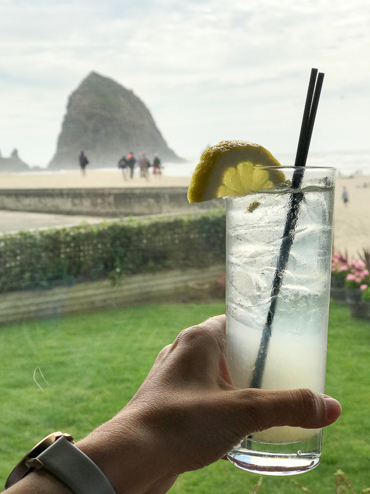cheers with a view