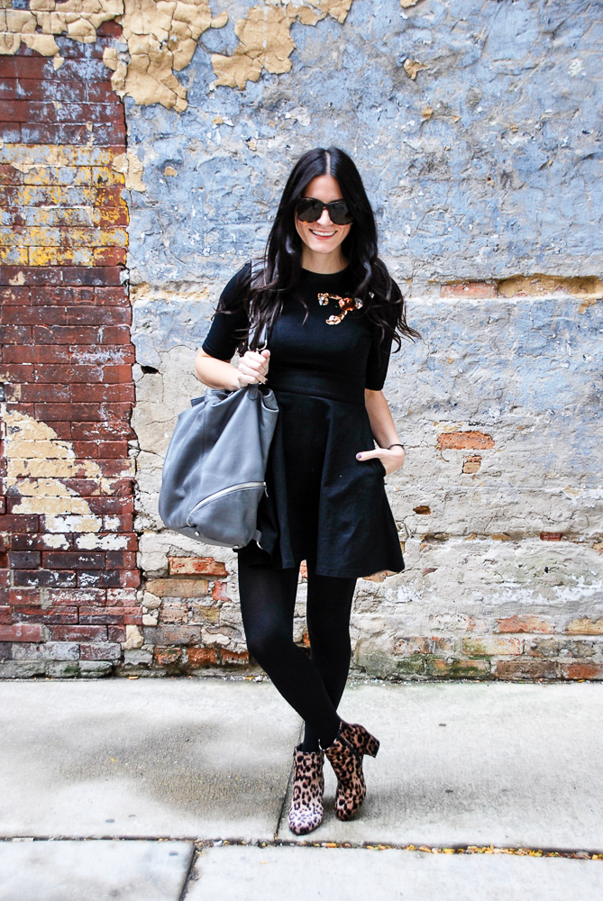 how to style a fall lbd