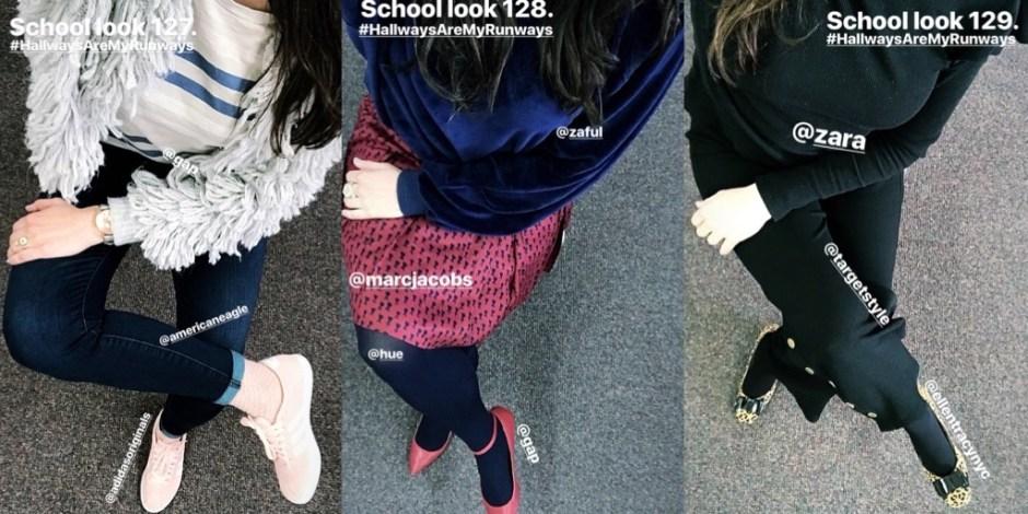 school looks 127-129