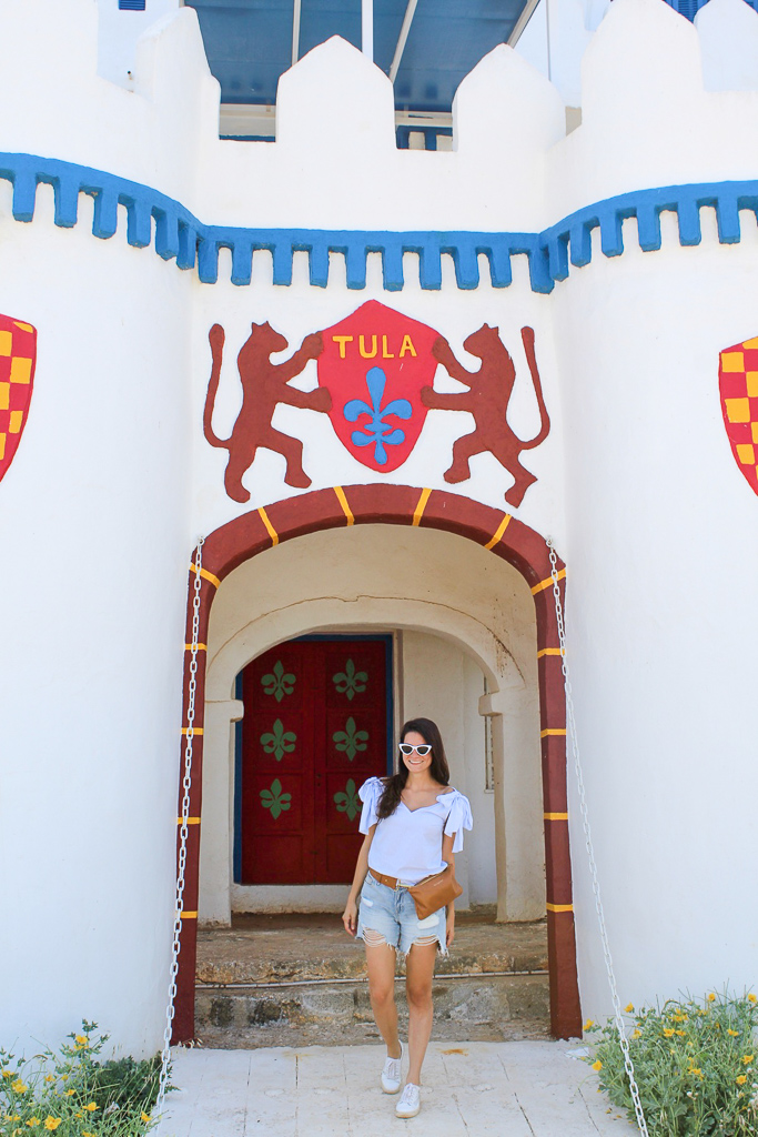 Fairytale Castle in Agrili, Greece