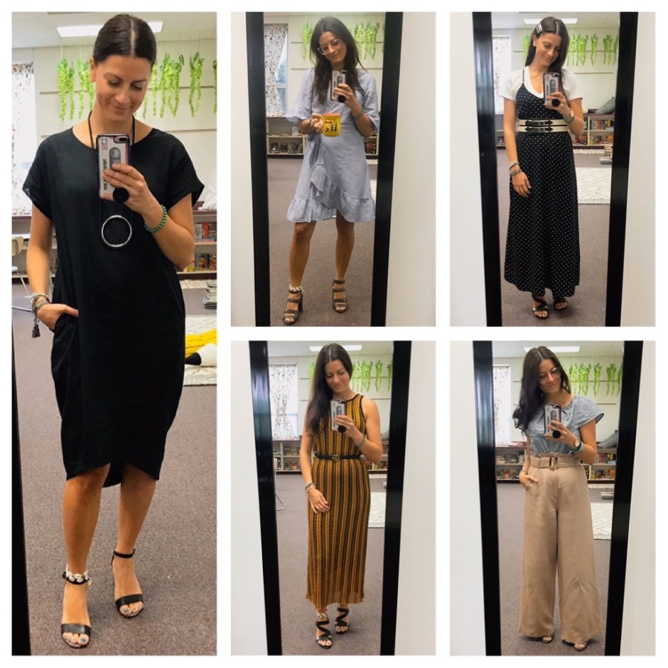 week one work outfits