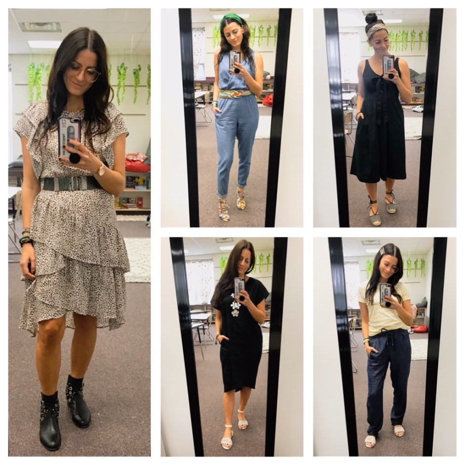 week five work outfits