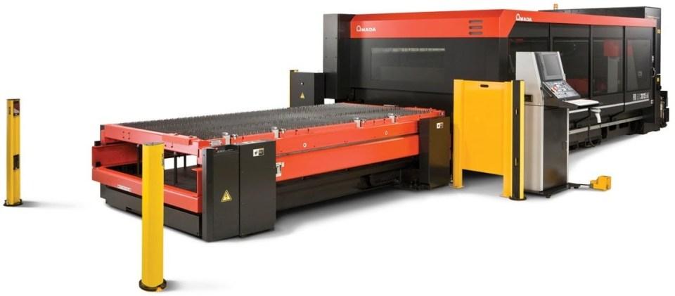 Bild på lasermaskin