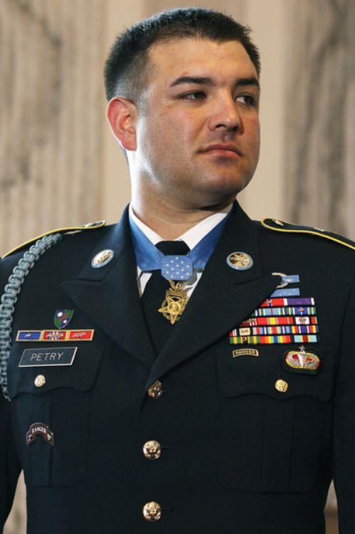 U.S. Army Ranger Master Sergeant Leroy Petry (Ret.)