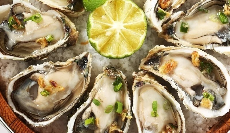 boiled oyster