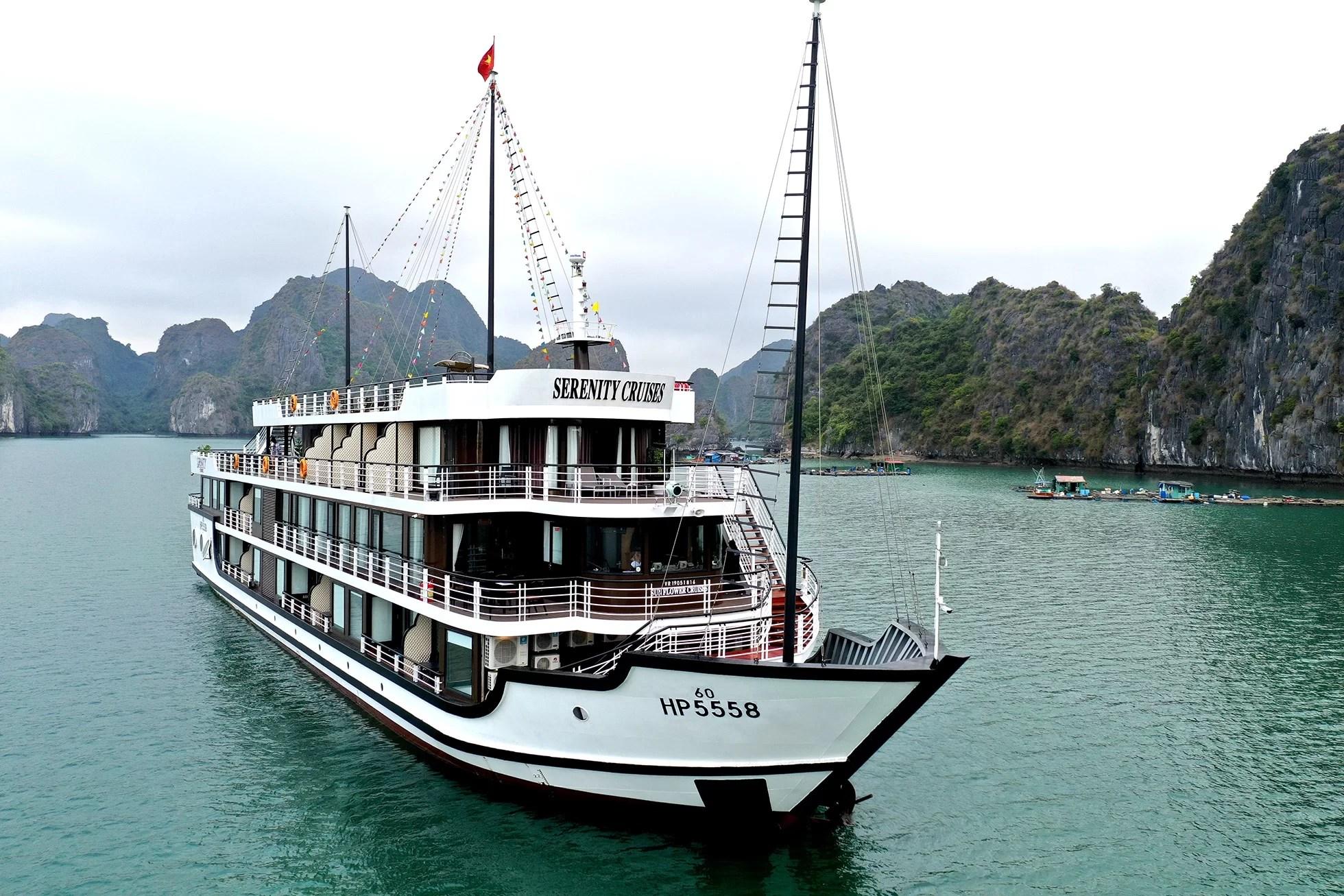 Halong Bay 3 days 2 nights   Lan Ha Bay 3 days 2 nights Serenity Cruises
