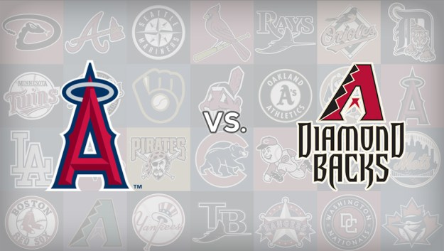 Angels at Diamondbacks
