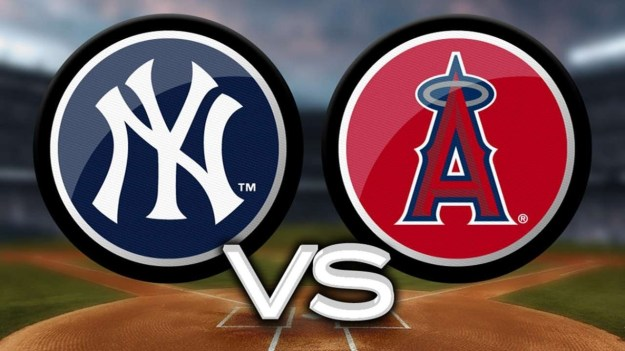 Yankees at Angels