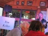 Tim Kellar performs