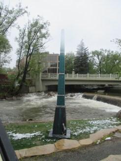 500-year Flood marker