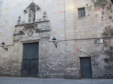 bomb damaged church