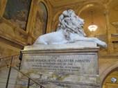 lion as Civil War memorial