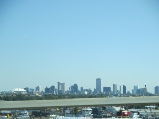 New Orleans from an overpass