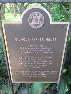 lots of historic plaques