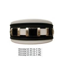 halsband, metalen, zwarte steen, stoer, Cane corso